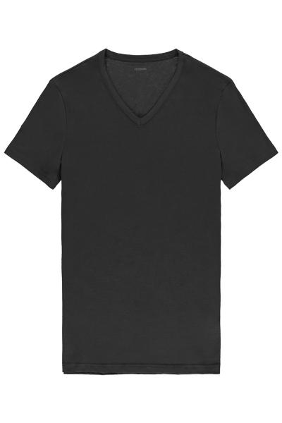 Short-Sleeve V-Neck Cotton-Jersey T-shirt