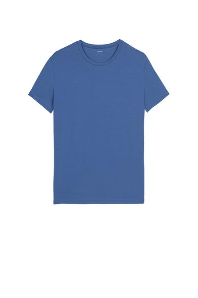 T-shirt en Coton Stretch
