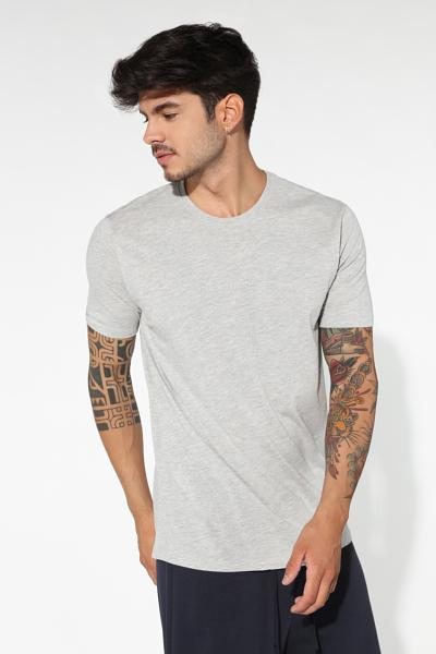 Camiseta de Cuello Redondo Regular Fit