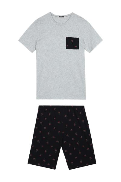 Roses Cropped Pyjamas