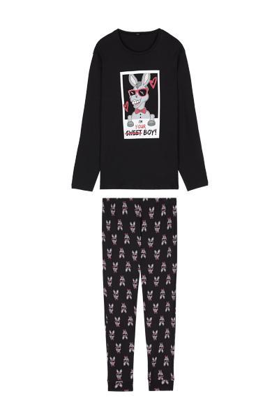 Long Sweet Donkey Pyjamas