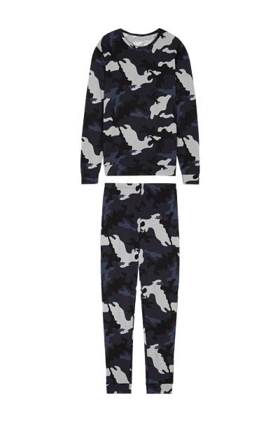 Dlouhé Maskáčové Pyžamo