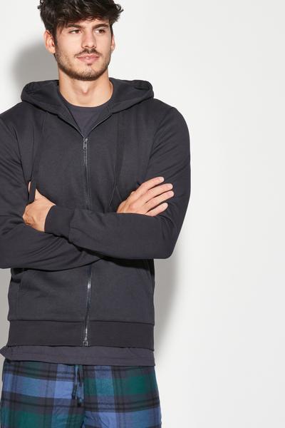 Sweat-Shirt Basique à Capuche