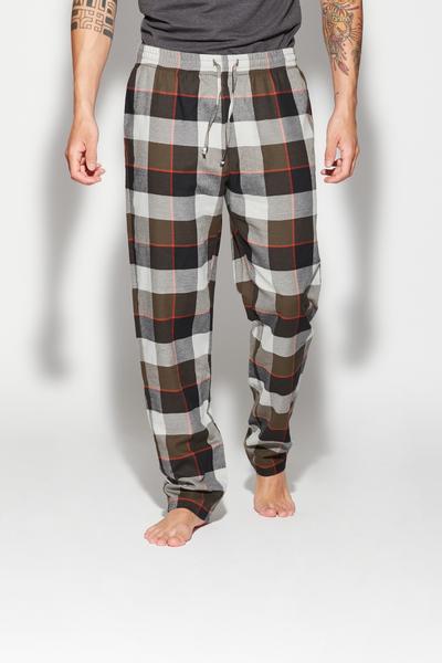 Spodnie Długie z Flaneli
