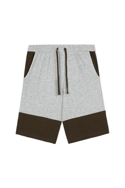Block-Colour Jersey Shorts