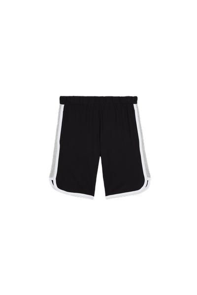 Contrast Colour Lateral Line Shorts
