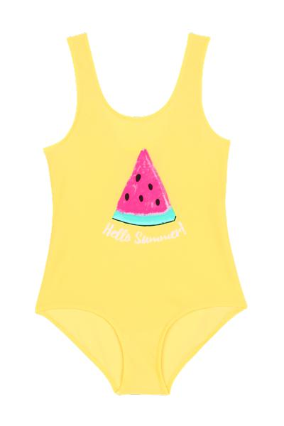Girl's Watermelon One-Piece Swimsuit
