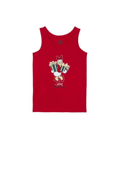 Wide Shoulder Donald DuckⒸ Vest Top