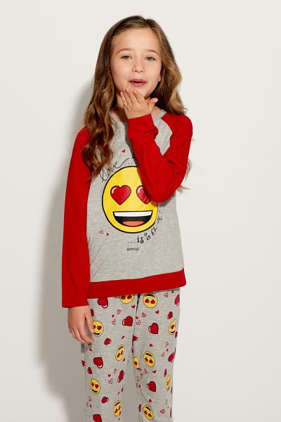 Long Love Emoji Pyjamas