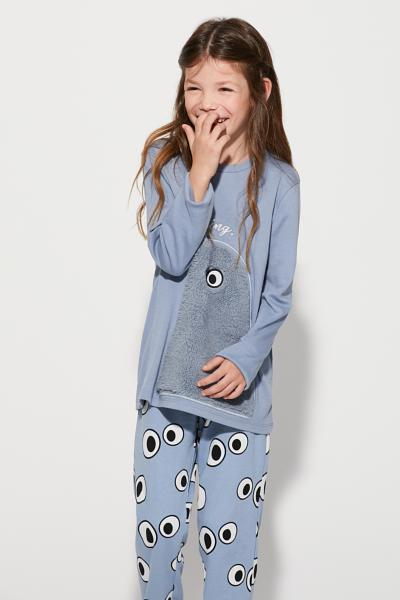 Long Monster Pyjamas