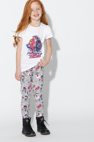 Teen Cotton Titans Leggings