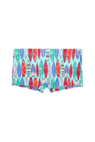 Boy's Printed Swim Shorts