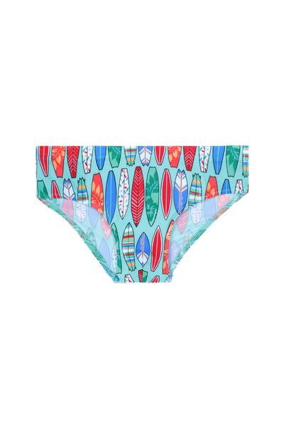 Boy's Printed Swim Briefs