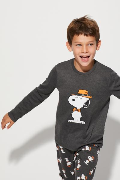 Long Snoopy Hipster Pyjamas