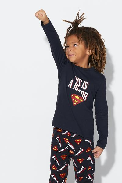 Pijama Comprido Superman