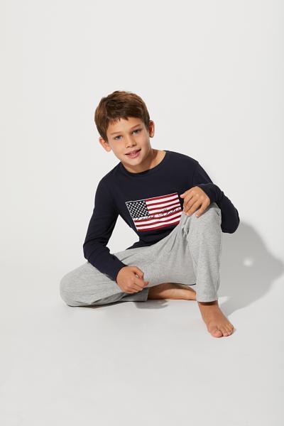 Hosszú USA Pizsama