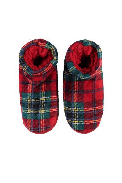 Calcetines Estilo Zapatilla de Cuadros Escoceses