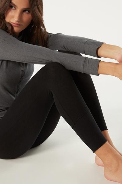 Ribbed Modal Cashmere Ultralight Leggings
