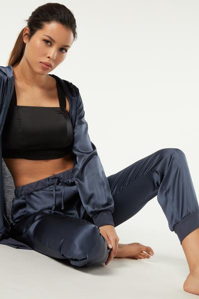 Silk and Lyocell Pajama Pants
