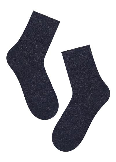 Children's Short Thick Patterned Socks