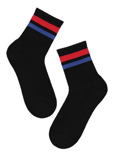 Calcetines cortos estampados de algodón para niños