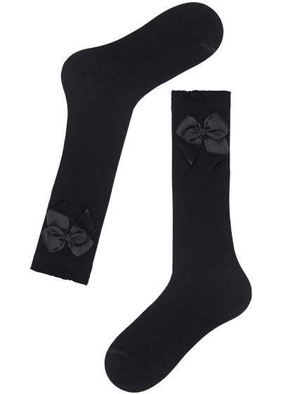 Children's Long Chic Patterned Socks