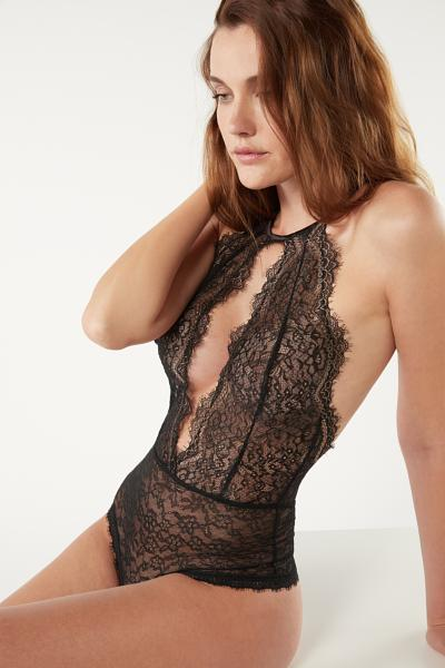 My Golden Touch Lace Bodysuit