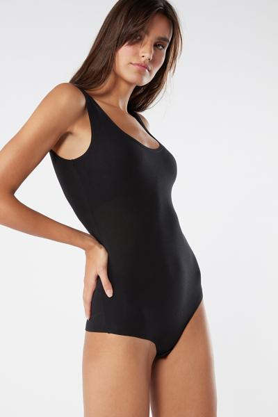 Scoop Neck Modal Bodysuit