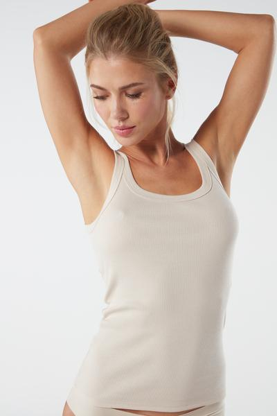 Supima Cotton Racerback Vest Top