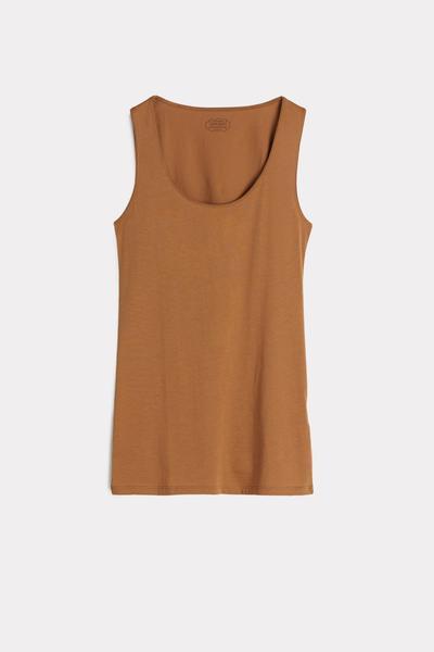 Ultrafresh Supima® Cotton Camisole with Wide Straps
