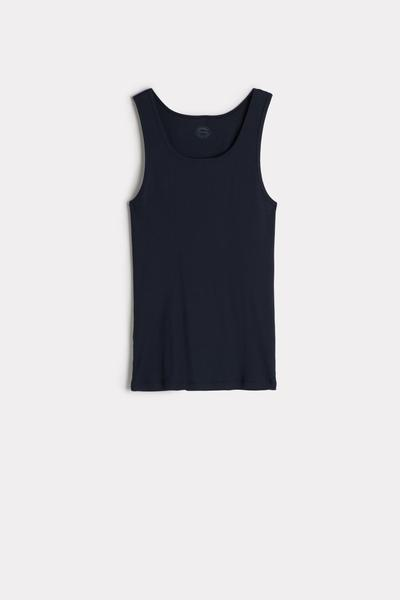 Ribbed Supima Cotton Tank Top