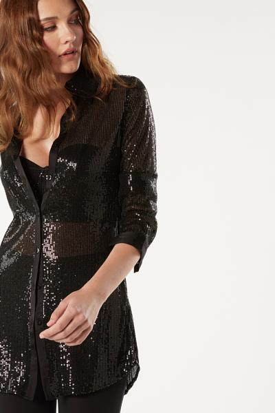 Sparkling In The Night Long-sleeved Shirt