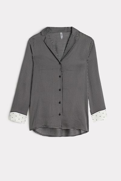 Lace Desire Viscose Satin Jacket