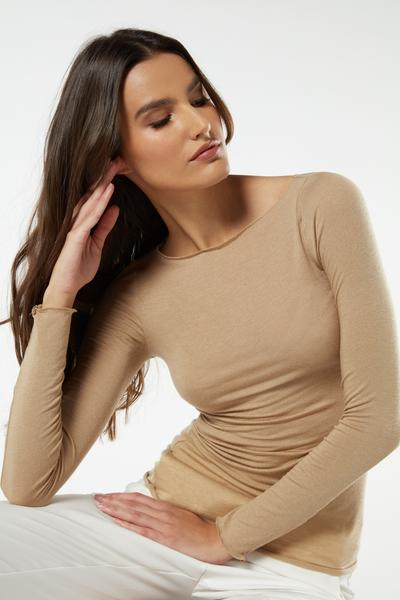 Boat Neck  Modal Cashmere Ultralight Jumper