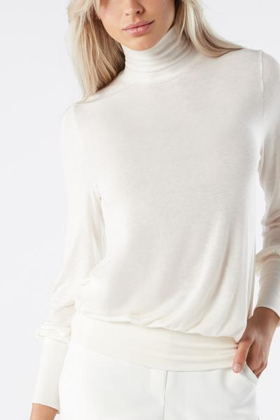 Long-Sleeved Modal Cashmere Ultralight Jumper