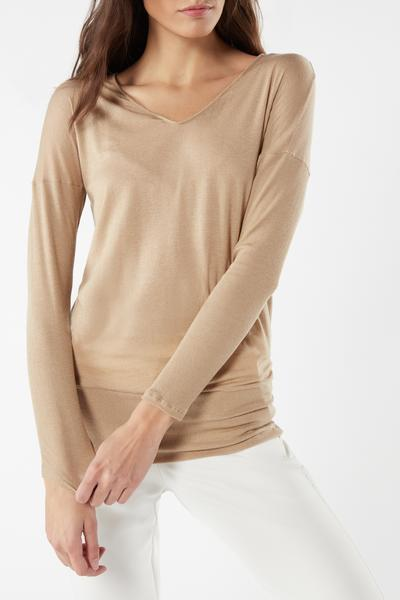 Long-Sleeved Modal Cashmere Ultralight Shirt