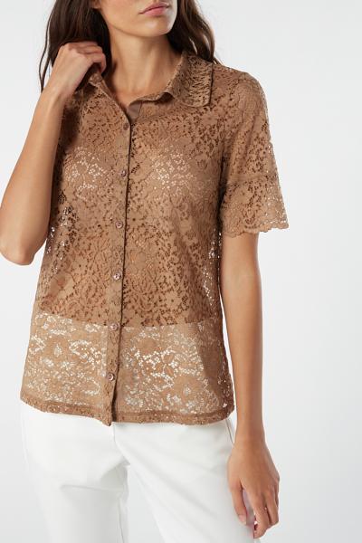 Laces Lace Shirt