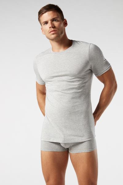 Camiseta Manga Corta Escote Redondo de Algodón Supima®