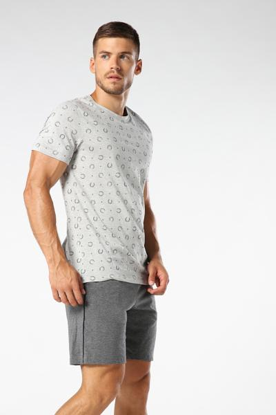 Microprinted Regular Fit T-shirt