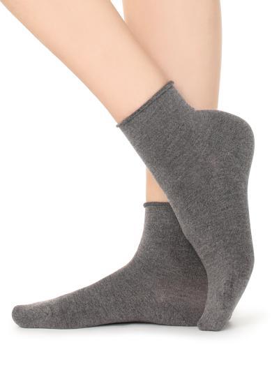 Socke aus Kaschmir ohne Bündchen