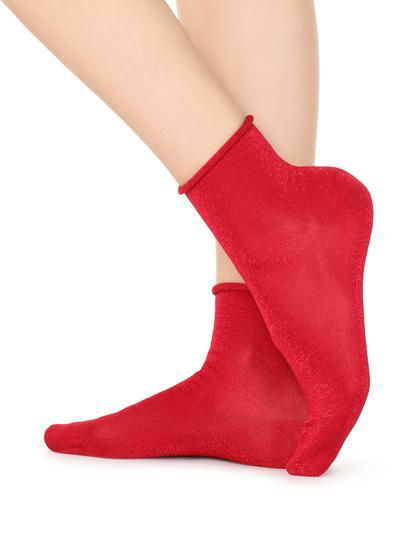 Patterned Short Socks