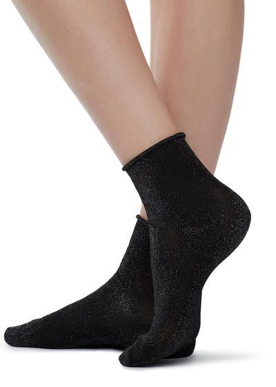 Calcetines cortos en fantasía de tendencia
