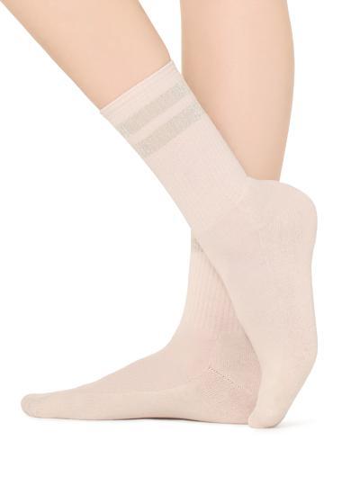 Short patterned socks