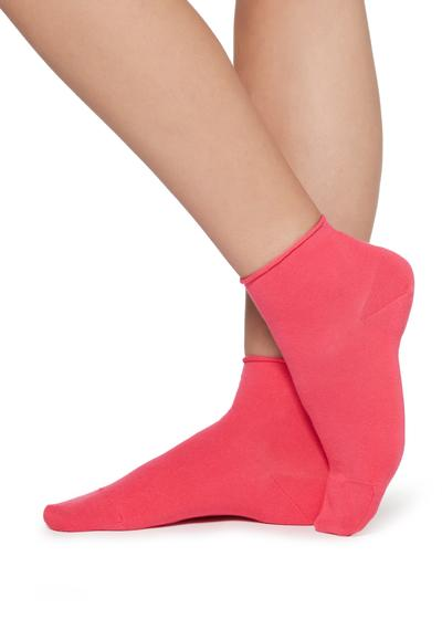 Extra Kurze Socken ohne Bündchen aus leichter Baumwolle
