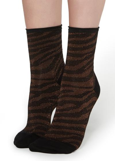 Patterned Short Socks