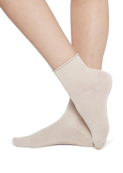 Modische Socken mit Glitzer