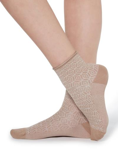 Fancy patterned socks