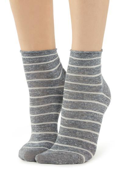 Fancy striped socks