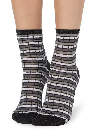 Fancy striped socks