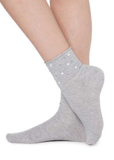 Lesklé ponožky